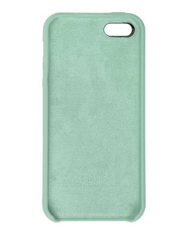 قاب سیلیکونی فیروزه ای اپل Apple iPhone 5/5s/SE