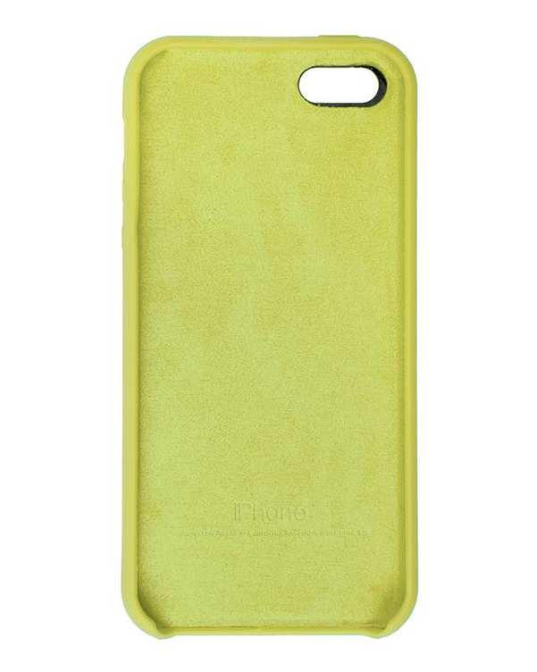 قاب سیلیکونی سبز فسفری اپل Apple iPhone 5/5s/SE