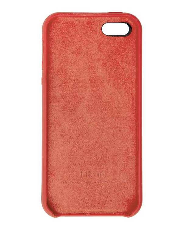 قاب سیلیکونی صورتی روشن اپل Apple iPhone 5/5s/SE