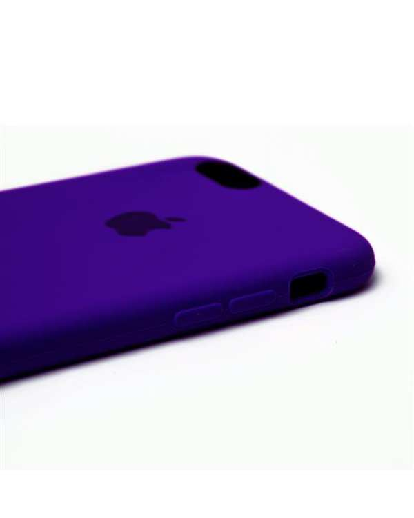 قاب سیلیکونی آبی کاربنی اپل Apple iPhone 6s