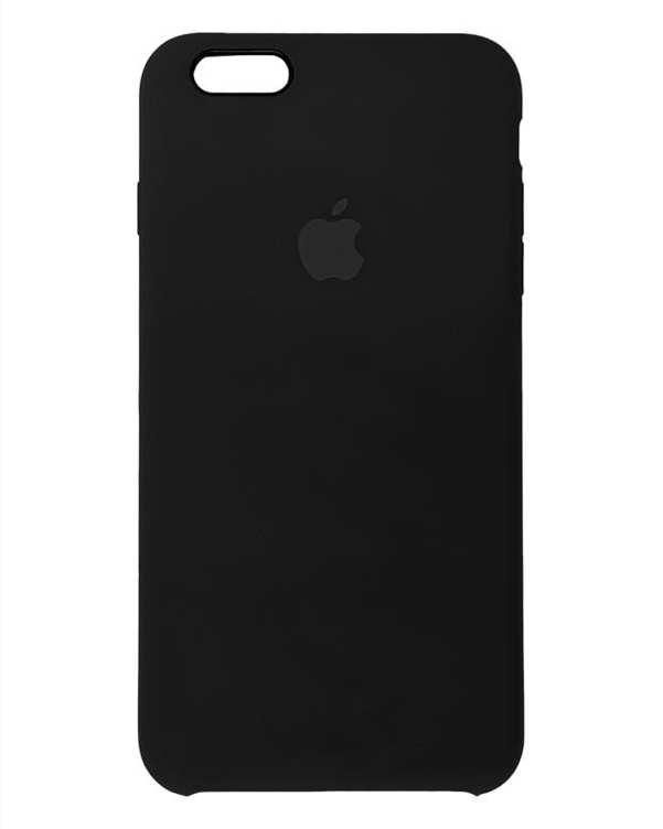 قاب سیلیکونی مشکی اپل Apple iPhone 6 Plus