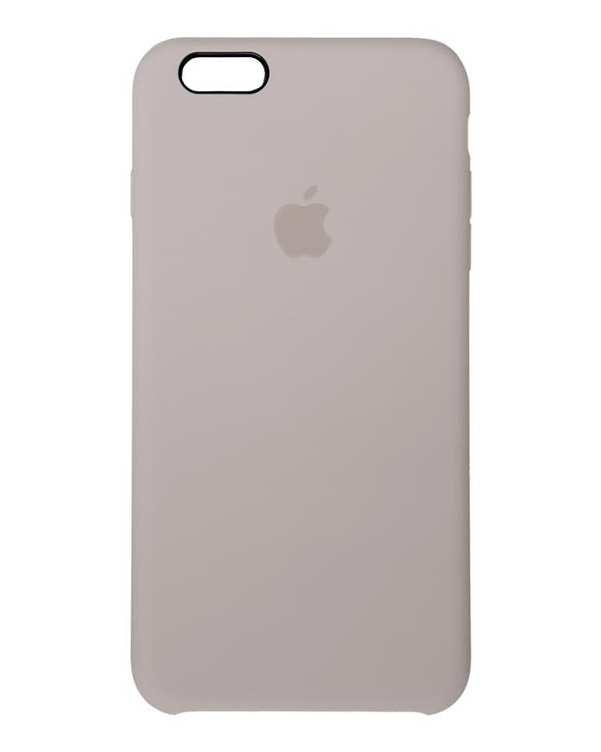 قاب سیلیکونی طوسی اپل Apple iPhone 6 Plus