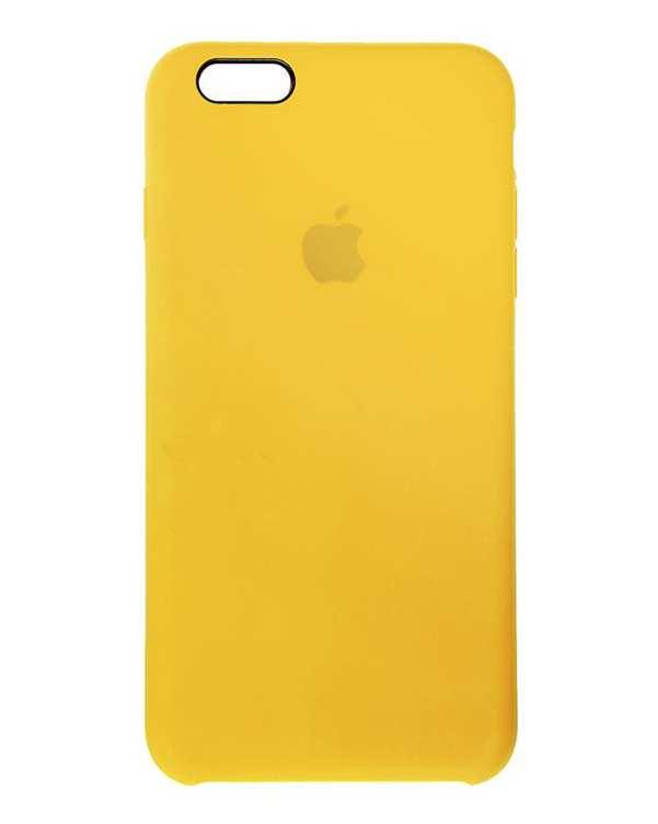قاب سیلیکونی زرد اپل Apple iPhone 6s Plus /6 Plus