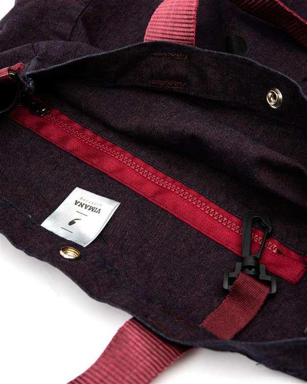 کیف دوشی بادمجانی ویمانا