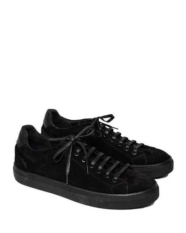 کفش چرم مردانه کژوال 001 مشکی آرتمن