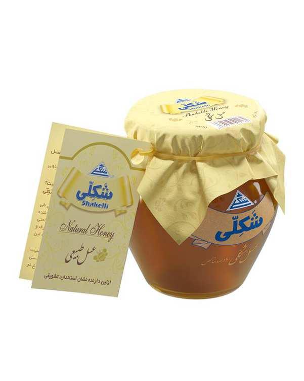 عسل طبیعی 140 گرمی شکلی