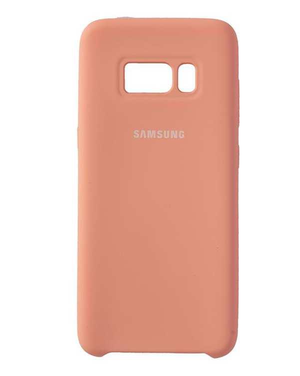 قاب سیلیکونی صورتی سامسونگ Samsung Galaxy S8