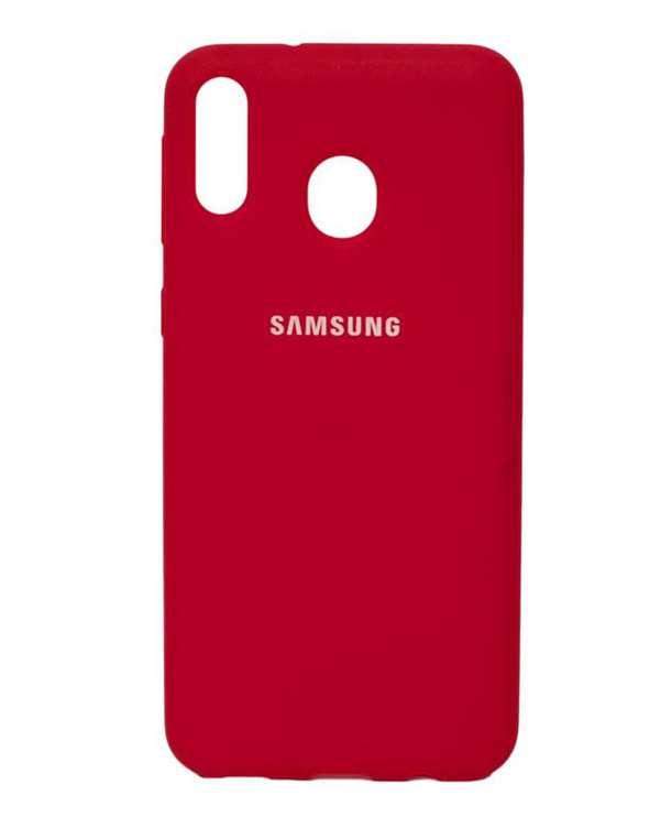 قاب سیلیکونی قرمز سامسونگ Samsung Galaxy M20