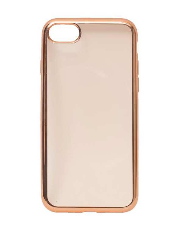 قاب آیفون بی رنگ دور مسی iPhone 7