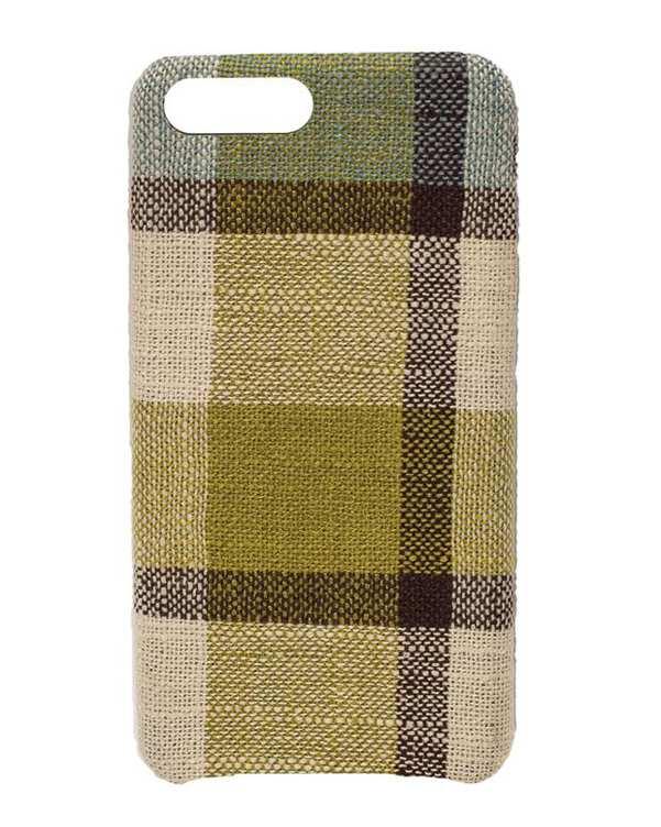 قاب آیفون سبز کرم طرح بربری iPhone 8 Plus
