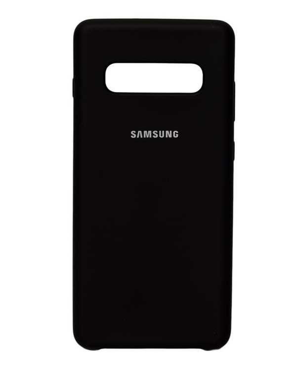 قاب سیلیکونی مشکی سامسونگ  Samsung Galaxy S10 Plus