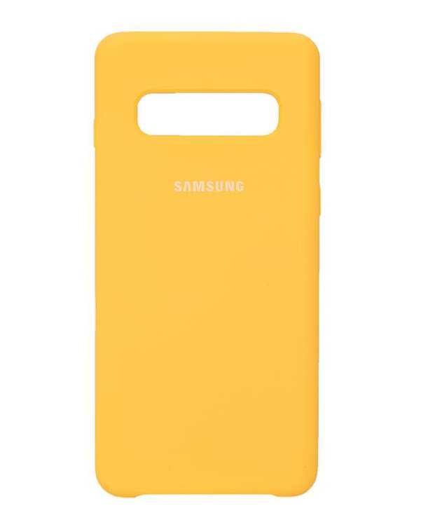 قاب گوشی سیلیکونی لیمویی سامسونگ Samsung Galaxy S10