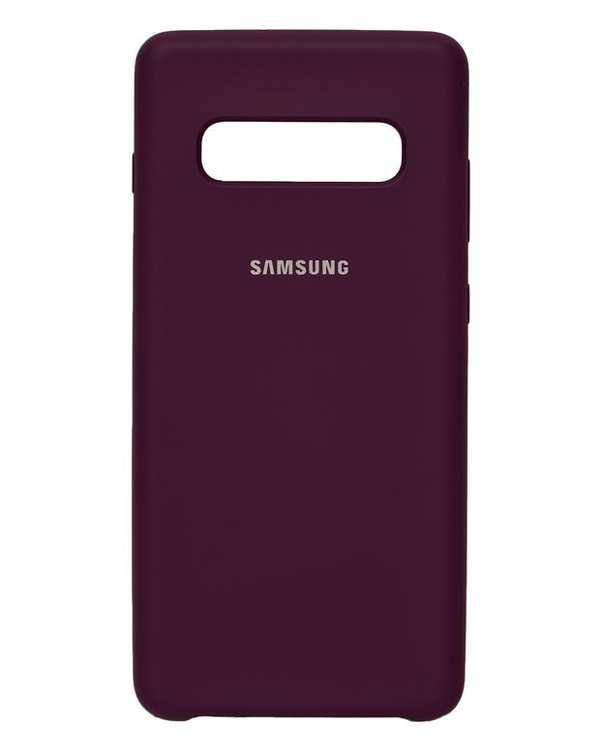 قاب سیلیکونی بنفش سامسونگ Samsung Galaxy S10 Plus
