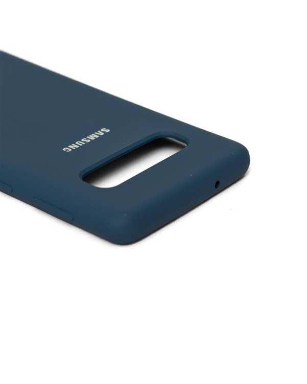 قاب سیلیکونی آبی سامسونگ Samsung Galaxy S10