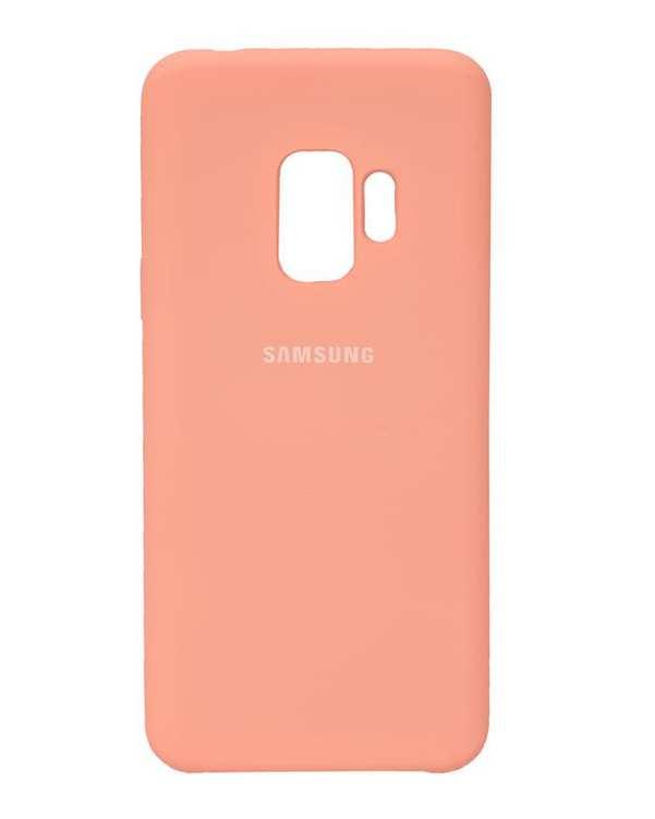 قاب سیلیکونی صورتی سامسونگ Samsung Galaxy S9