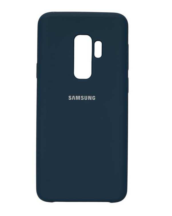 قاب سیلیکونی آبی تیره سامسونگ  Samsung Galaxy S9 Plus