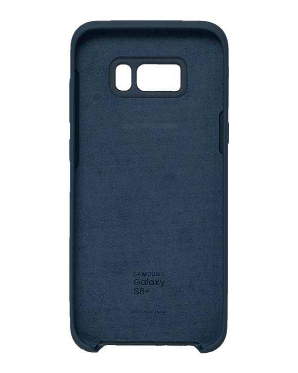 قاب سیلیکونی آبی تیره سامسونگ Samsung Galaxy S8 Plus