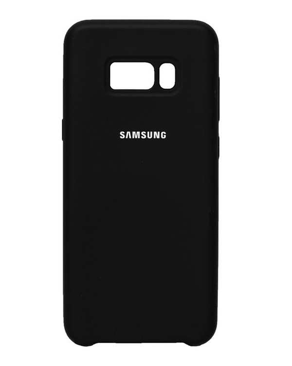 قاب سیلیکونی مشکی سامسونگ Samsung Galaxy S8 Plus