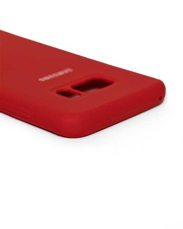 قاب سیلیکونی قرمز سامسونگ  Samsung Galaxy S8 Plus