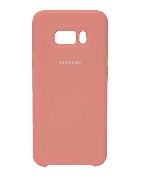 قاب سیلیکونی صورتی سامسونگ Samsung Galaxy S8 Plus
