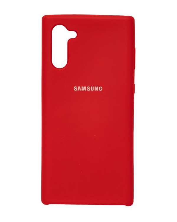قاب سیلیکونی قرمز سامسونگ Samsung Galaxy Note 10