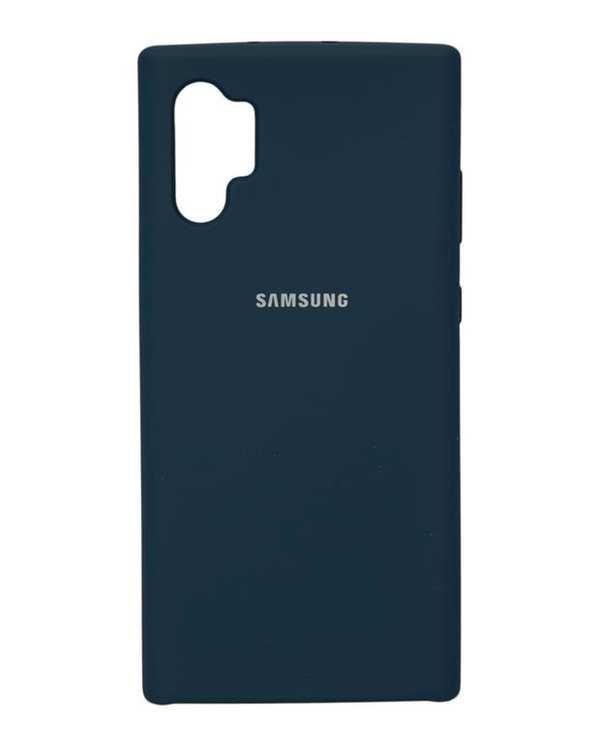 قاب گوشی سیلیکونی آبی سامسونگ Samsung Galaxy Note 10 Plus