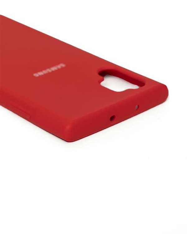 قاب سیلیکونی قرمز سامسونگ Samsung Galaxy Note 10 Plus
