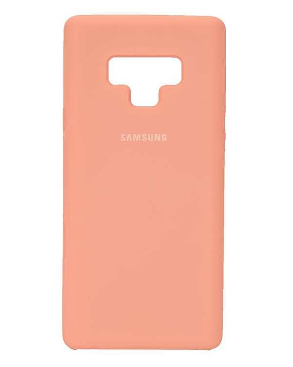 قاب سیلیکونی صورتی سامسونگ Samsung Galaxy Note 9