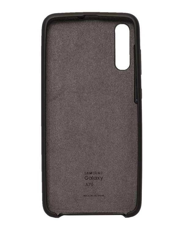 قاب سیلیکونی مشکی سامسونگ  Samsung Galaxy A70
