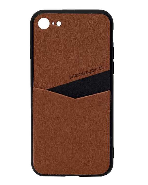 قاب چرم قهوه ای iPhone 7 فشن کیس