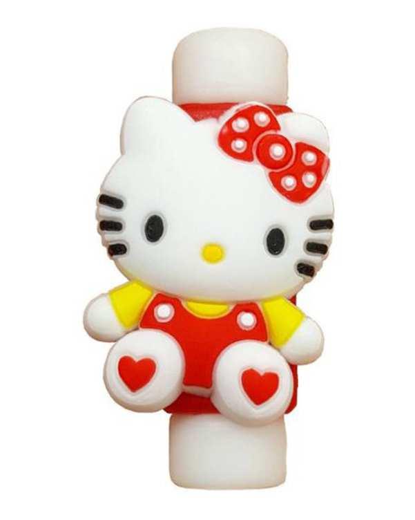 محافظ کابل شارژ طرح کیتی مدل Hello Kitty
