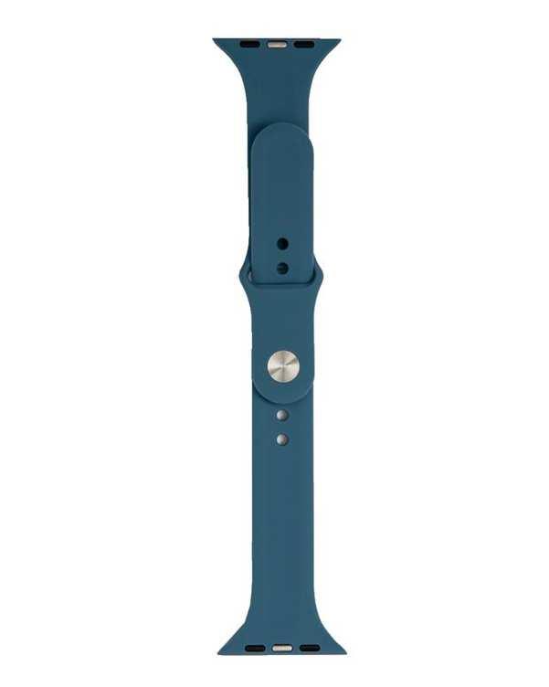 بند سیلیکونی آبی Platina مناسب اپل واچ 42/44 میلی متری