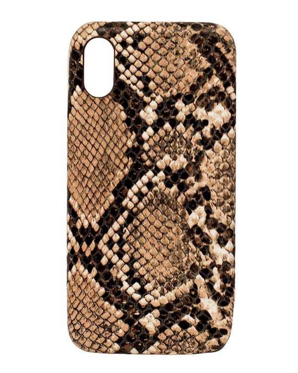 قاب قهوهای پوست ماری Apple iPhone X Max
