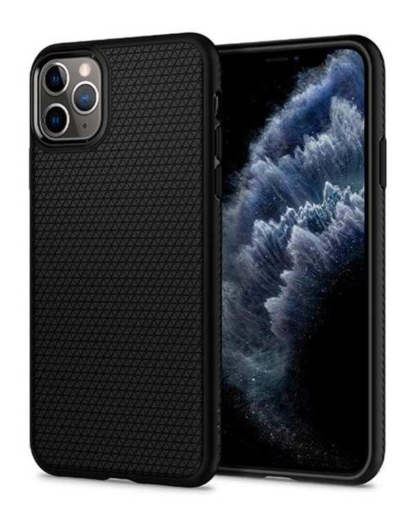 قاب آیفون Liquid Air مشکیApple iPhone 11 Pro Max اسپیگن