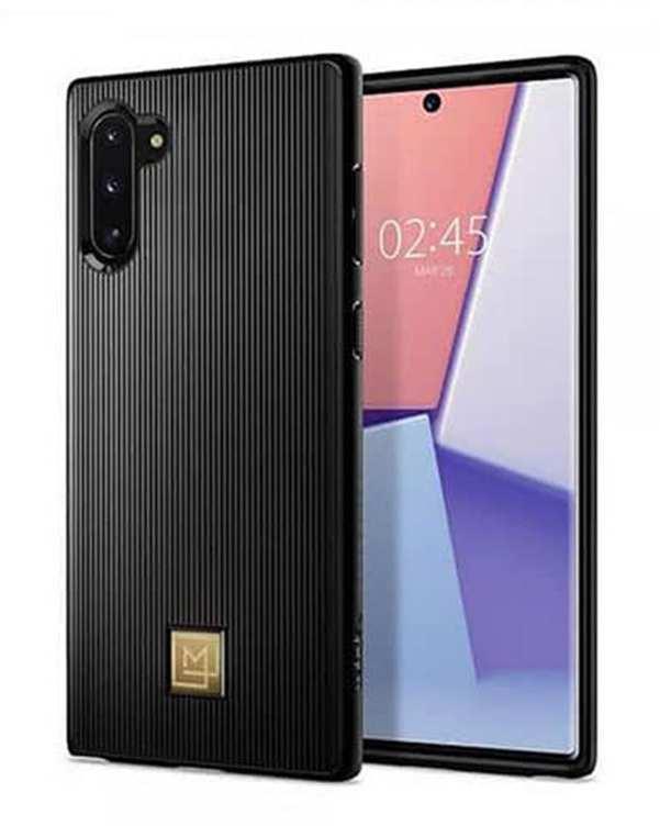 قاب گوشی سامسونگ مدل Lamanon مشکی Galaxy Note 10 اسپیگن