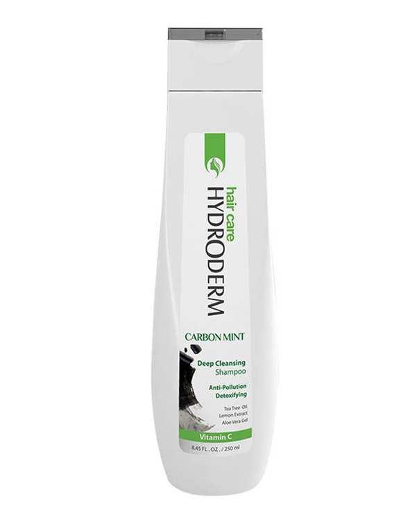 شامپو پاک کننده مو مدل Carbon Mint 250ml هیدرودرم