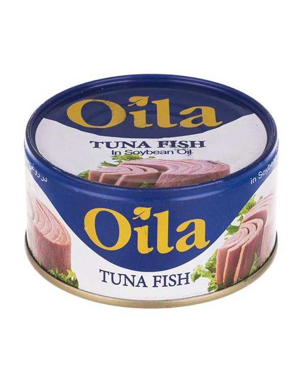 تن ماهی در روغن سویا اویلا