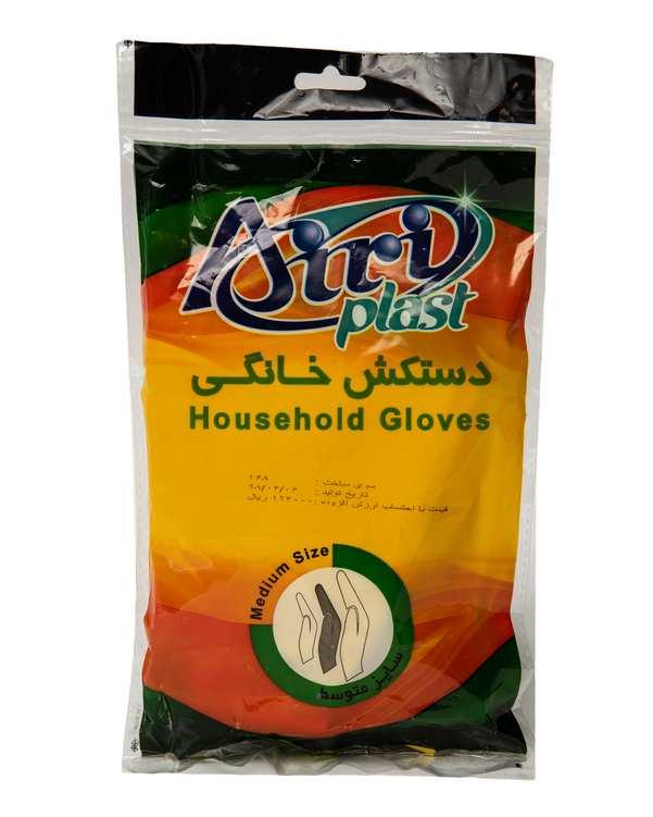 دستکش خانگی سایز متوسط آیری پلاست