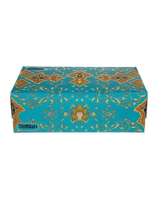 دستمال کاغذی 150 برگ مدل شاه عباسی سافتلن