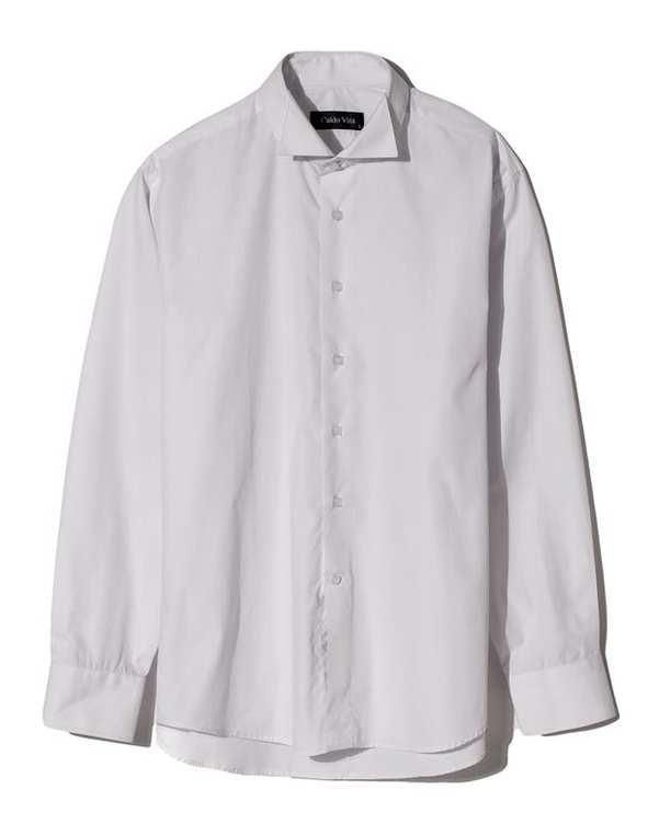 پیراهن مردانه نخی سفید Caldo Vita زاگرس پوش