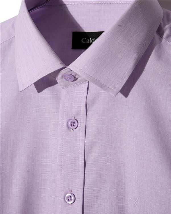 پیراهن مردانه آکسفورد کلاسیک یاسی روشن Caldo Vita زاگرس پوش