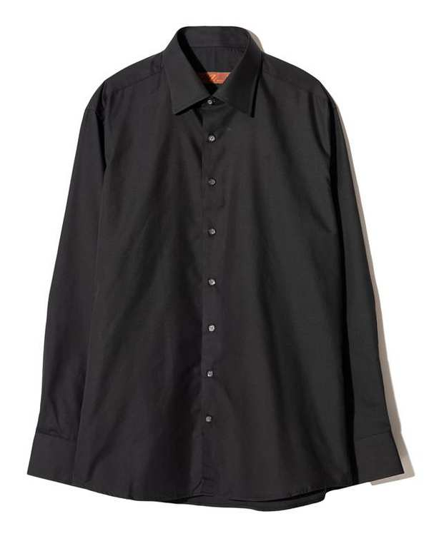 پیراهن مردانه کلاسیک مشکی زاگرس پوش