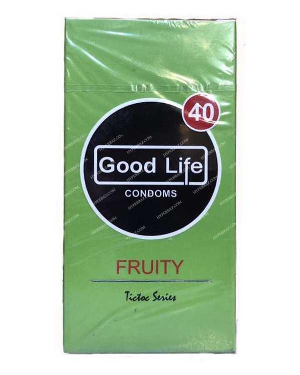 کاندوم مدل Fruity گود لایف بسته 12 عددی