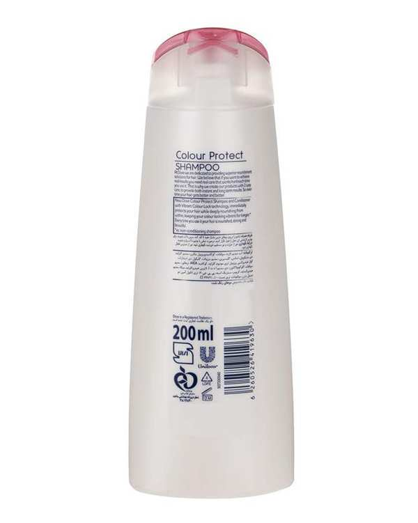 شامپو موهای رنگ شده مدل Color Protect 200ml داو