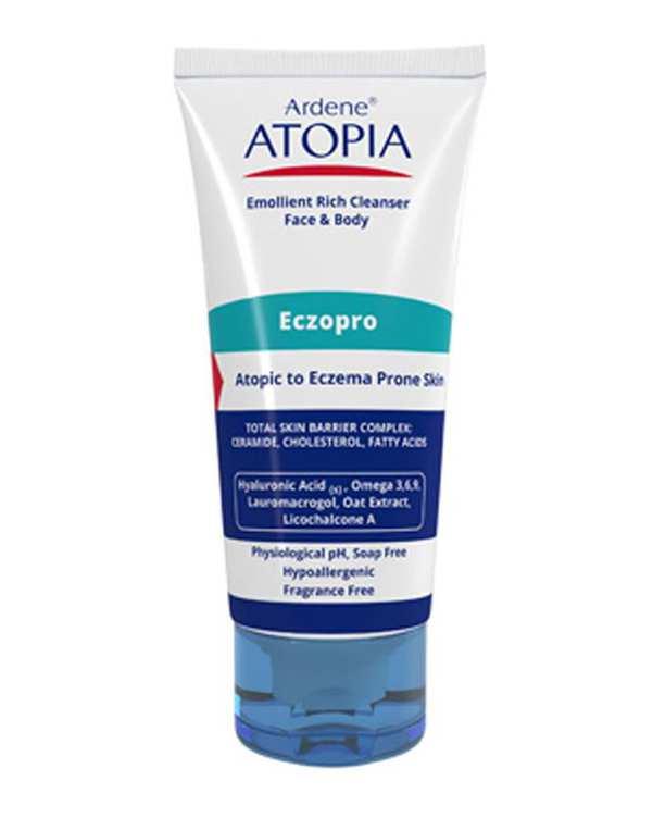 لوسیون شوینده 50% روغن نرم کننده مدل Atopia 200ml آردن