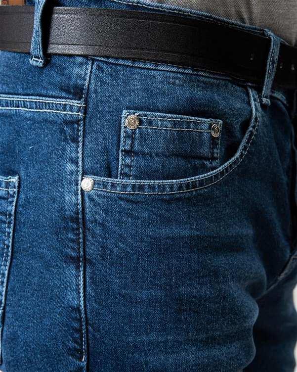 شلوار مردانه جین آبی ManTen