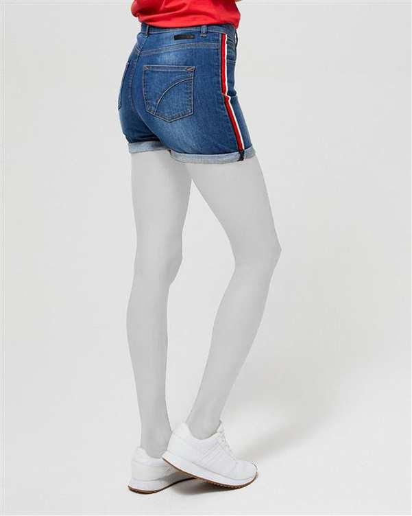 شلوارک زنانه جین آبی مودو