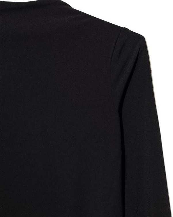 پیراهن زنانه یقه ایستاده مشکی Diverse