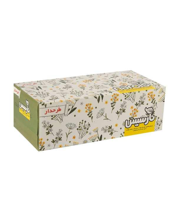 دستمال کاغذی دولا 150 برگ نارسیس