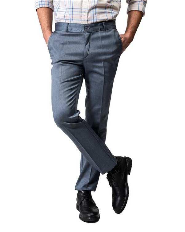 شلوار مردانه راسته پارچه ای فیلی Swayam